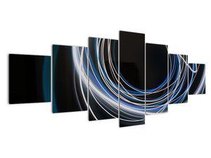 Tablou cu linii albastre (V020053V210100)