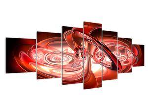 Obraz - červené tvary (V020064V210100)