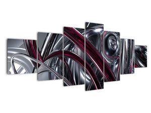 Tablou cu abstracție gri (V020094V210100)
