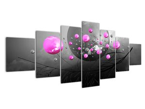 Tablou cu bile roz  (V020105V210100)