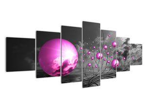 Obraz ružových gulí (V020108V210100)