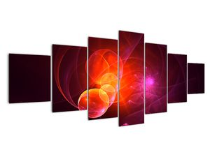 Moderní obraz růžové abstrakce (V020129V210100)