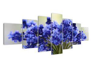 Obraz kytice modrých květů (V020175V210100)