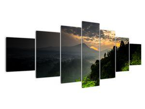 Obraz - zelená horská krajina (V020249V210100)