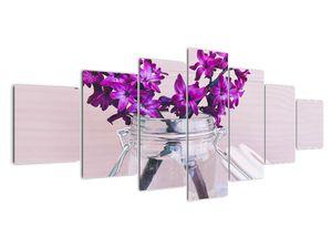 Obraz fialových květin (V020367V210100)