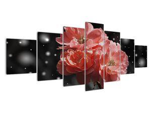 Obraz růžové květiny (V020471V210100)