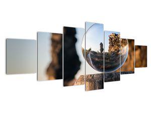 Nagyító és a táj képe (V020536V210100)