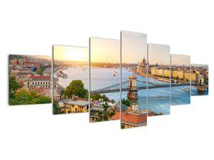 Obraz města Budapešť s řekou (V020712V210100)