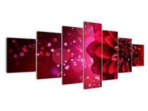 Obraz červené kvety (V020807V210100)