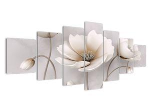 Obraz bílých květin (V020898V210100)