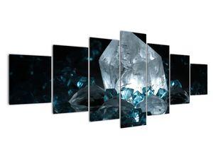 Schilderij - Kristal (V021107V210100)
