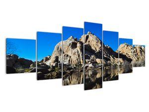Obraz zrkadlenie skál (V021327V210100)