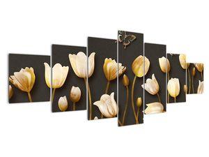 Obraz - Tulipány - abstraktné (V021347V210100)