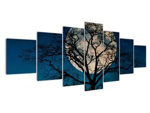 Obaz stromu s úplňkem (V021355V210100)