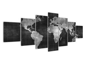 Obraz - Mapa světa (V021461V210100)