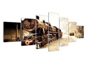 Slika - Povijesna lokomotiva (V021959V210100)