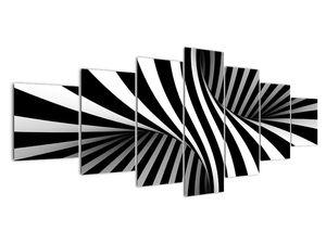 Absztrakt kép zebra csíkokkal (V021960V210100)