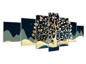 Slika zlatega drevesa (V022286V210100)