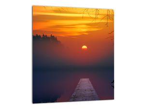 Híd képe naplementekor (V020012V3030)