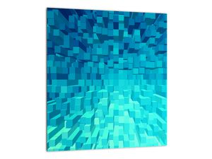 Obraz - abstraktní kostky (V020021V3030)