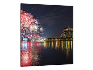 Tablou cu artificii in Singapur (V020035V3030)
