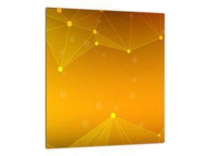 Abstraktní žlutý obraz (V020045V3030)