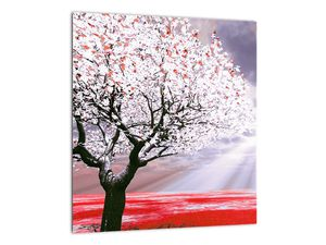 Červený obraz stromu (V020052V3030)