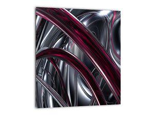 Tablou cu abstracție gri (V020094V3030)