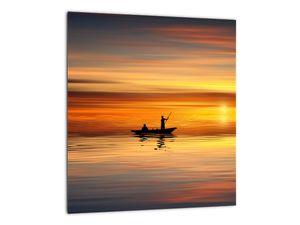 Tablou - cu barca  (V020168V3030)
