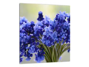Obraz kytice modrých květů (V020175V3030)