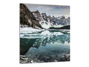 Tablou - lacul iarna (V020181V3030)