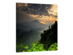 Obraz - zelená horská krajina (V020249V3030)