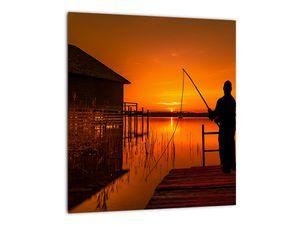 Tablou cu pescar (V020264V3030)