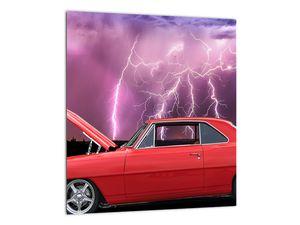 Slika crvenog automobila (V020409V3030)