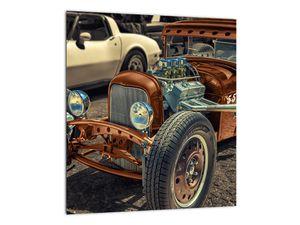 Obraz hnědého auta (V020538V3030)