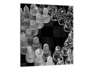 Obraz - černobílé šachy (V020598V3030)