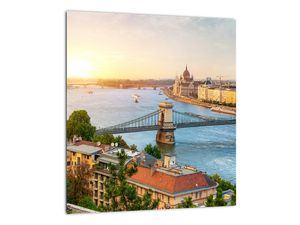 Obraz města Budapešť s řekou (V020712V3030)