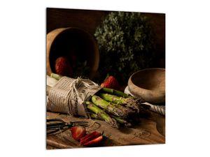 Obraz špargle na stole (V020883V3030)