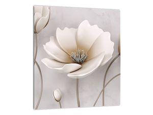 Obraz bílých květin (V020898V3030)