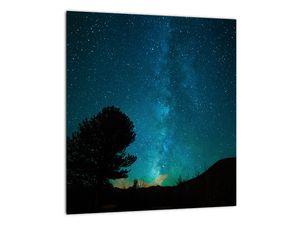 Obraz nočnej oblohy s hviezdami (V021100V3030)