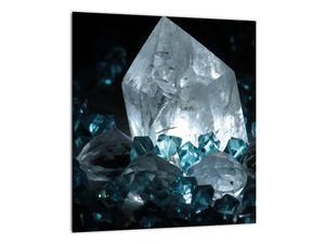 Schilderij - Kristal (V021107V3030)