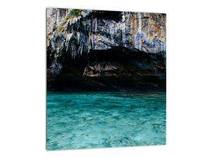 A víz és a sziklák képe (V021152V3030)