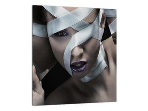 Slika žene s vrpcom (V021278V3030)