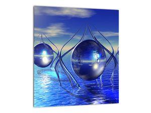Obraz abstrakce - voda (V021284V3030)