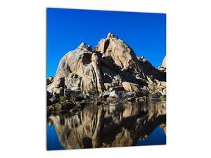 Obraz zrkadlenie skál (V021327V3030)