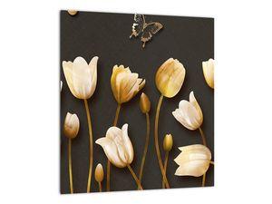 Obraz - Tulipány - abstraktné (V021347V3030)