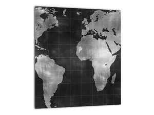 Obraz - Mapa světa (V021461V3030)
