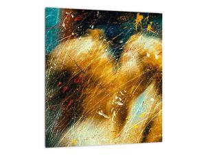 Obraz - Bozkávajúci sa anjeli (V021614V3030)