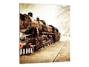 Slika - Povijesna lokomotiva (V021959V3030)