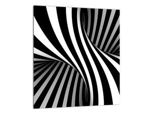 Absztrakt kép zebra csíkokkal (V021960V3030)